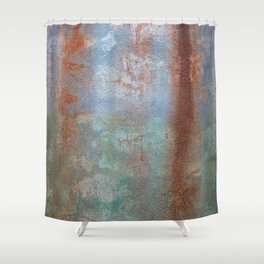 Prison Grunge Wall Texture Shower Curtain