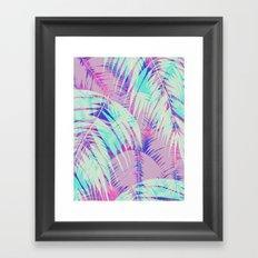 Maui Palm {Pink A} Framed Art Print