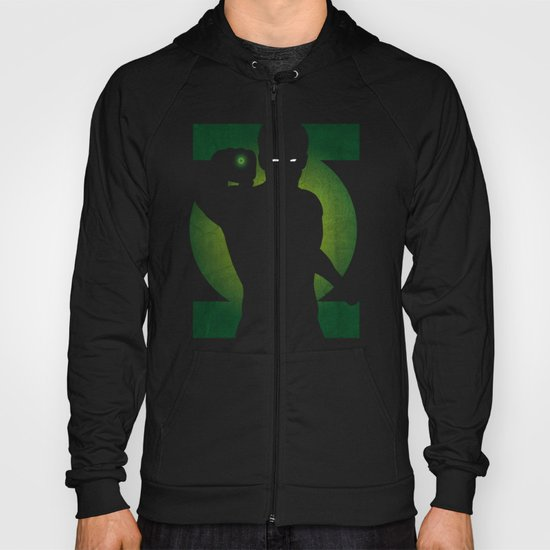 SuperHeroes Shadows : Green Lantern Hoody