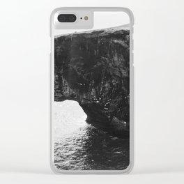 Dyrhólaey II Clear iPhone Case