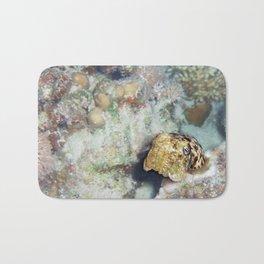 Baby Cuttlefish and Hard Coral Bath Mat