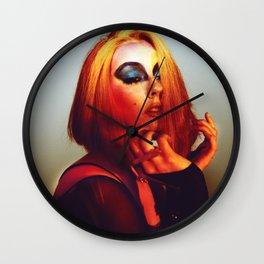 Rainbow Bowie  Wall Clock