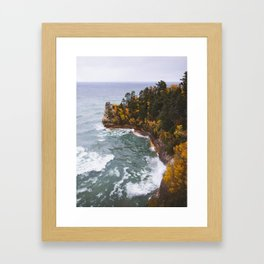 Miners Castle   Pictured Rocks National Lakeshore, Michigan   John Hill Photography Framed Art Print