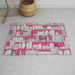 New York pink Rug