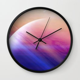 Return to the secrets of the galaxy Wall Clock