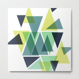 Forestry Metal Print
