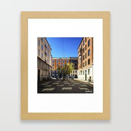 Nature will always find a way Framed Art Print