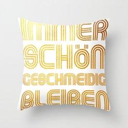 Geschmeidig Throw Pillow