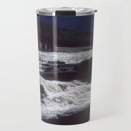 Athabasca Falls 2 Travel Mug