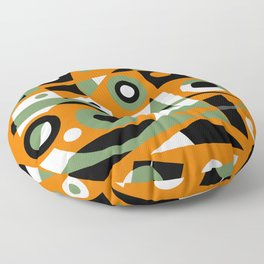 Abstract #977 Floor Pillow