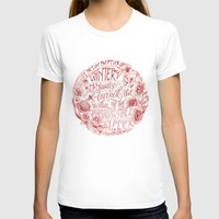 camus T-shirts featuring Invincible Summer by Biljana Kroll