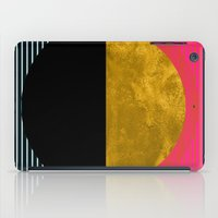 georgiana paraschiv iPad Cases featuring Abstract Sunset by Georgiana Paraschiv