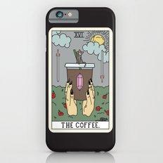 (BLACK) COFFEE READING iPhone 6s Slim Case