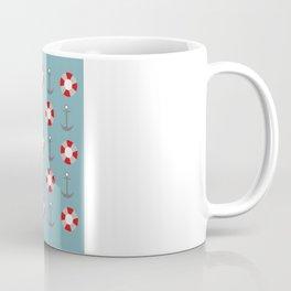 Sailing Pattern Coffee Mug