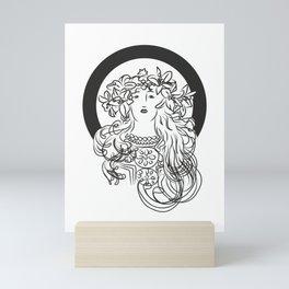 Mucha's Inspiration Mini Art Print