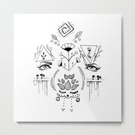 seeing is believing Metal Print