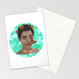 Butterfly's hex Stationery Cards