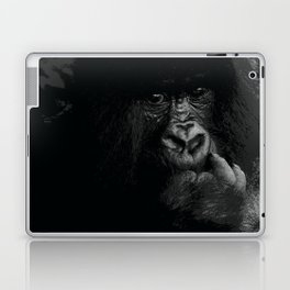 Silver Back Laptop & iPad Skin