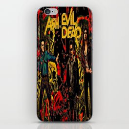Ash Faces Many Evils iPhone Skin