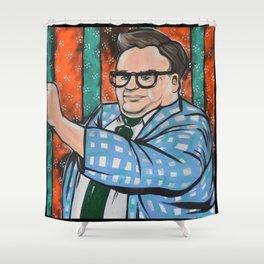 SNL Chris Farley as Matt Foley Shower Curtain