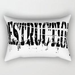 Destruction Rectangular Pillow