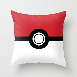 Poke-Ball Throw Pillow