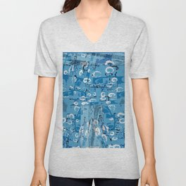 Oakland Blue Unisex V-Neck