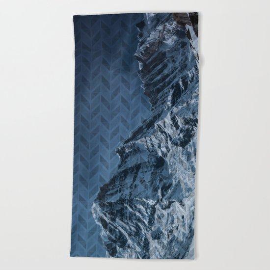 White Mountain Beach Towel