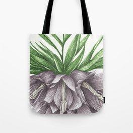 Fritillaria Lavendar Tote Bag