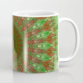Holiday Doily Mandala Coffee Mug