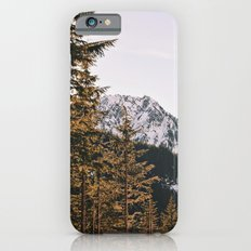 Snow Mountain in the Trees Slim Case iPhone 6