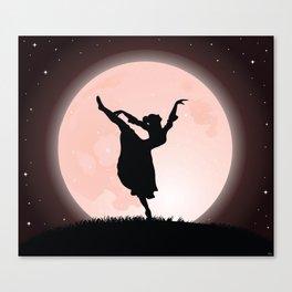 Moon Dancer Canvas Print