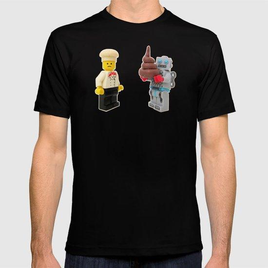 Lego cook & robot misunderstanding T-shirt