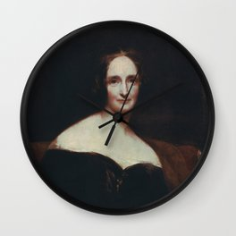 Mary Shelley Wall Clock