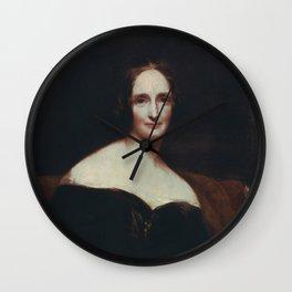 Mary Shelley Wall Clock