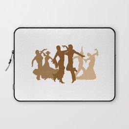 Flamenco Dancers Illustration  Laptop Sleeve