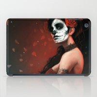 dia de los muertos iPad Cases featuring Dia de los Muertos by Giorgio Baroni