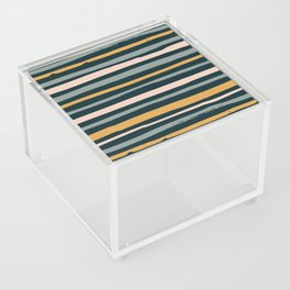 Autumn is calling - stripes Acrylic Box