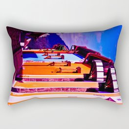 HOUSES OF THE CITY Rectangular Pillow