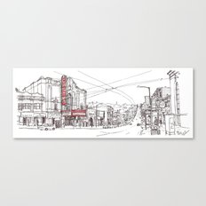 Castro Street, SF Canvas Print