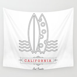 067 California Wall Tapestry