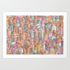 Continuous New York City Art Print