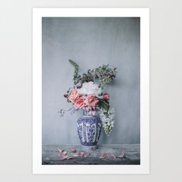 Muted Blooms Art Print