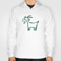 goat Hoodies featuring Goat by ANNA MAKAĆ -  folk designs