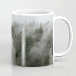 Pacific Northwest Foggy Forest Coffee Mug
