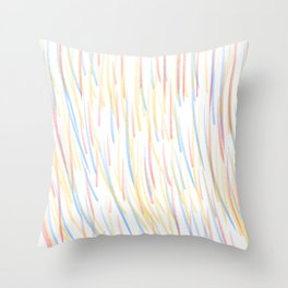 Refraction in Action Throw Pillow