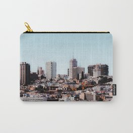 modern building in the city at San Francisco California USA Carry-All Pouch