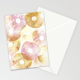 Donuts Texture Stationery Cards