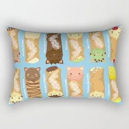 Cat-nnoli Rectangular Pillow