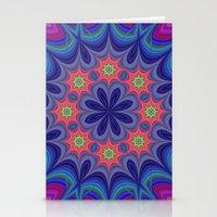 kaleidoscope Stationery Cards featuring Kaleidoscope by David Zydd